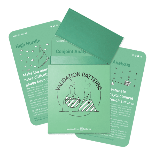 Validation Patterns card deck